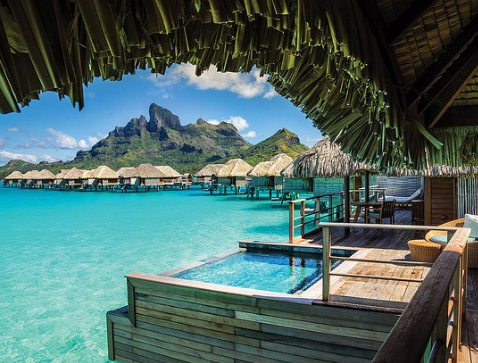 Main Attraction of Bora Bora Island