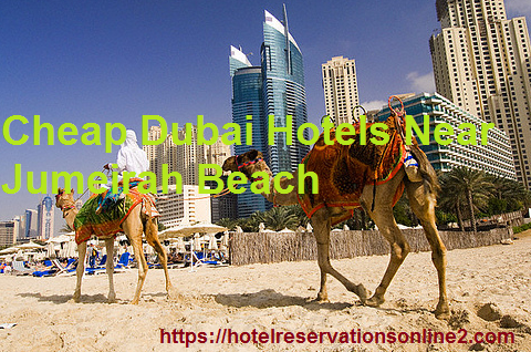Cheap Dubai Hotels Near Jumeirah Beach