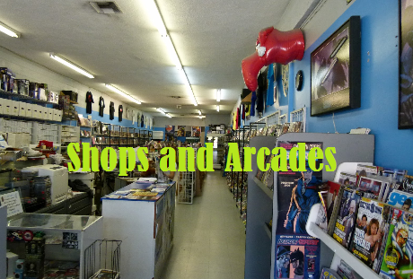 Shops and Arcades