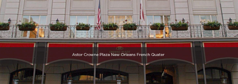 Hotels in Astor Crowne Plaza New Orleans French Quarter