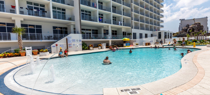 Hotels in Hampton Inn & Suites Panama City Beach-Beachfront