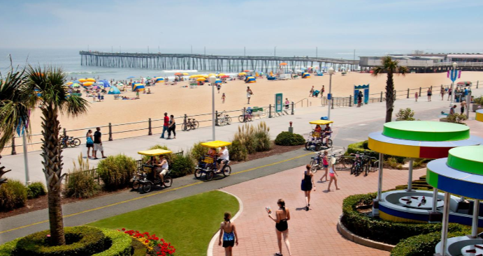 Virginia Beach Hotels on the Beach