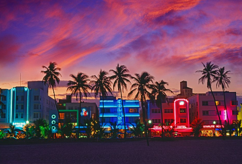 Ocean Drive South Beach Miami