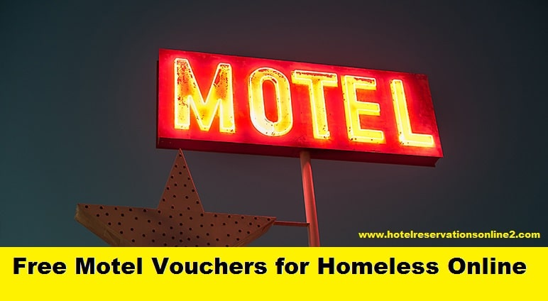 Free Motel Vouchers for Homeless Online