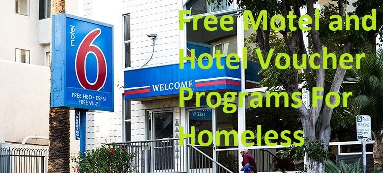 Free Motel and Hotel Voucher Programs For Homeless