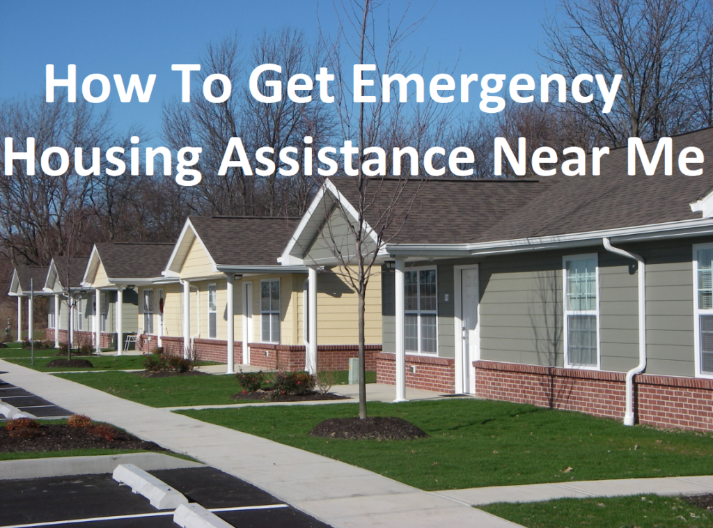 How to get emergency housing assistance near me