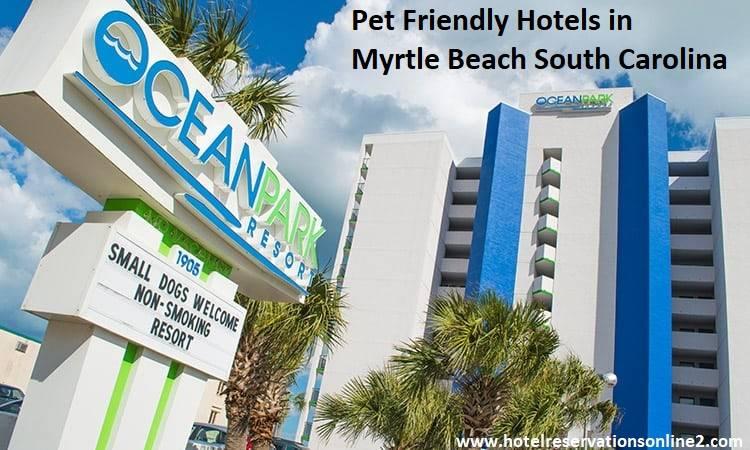 Pet Friendly Hotels in Myrtle Beach South Carolina