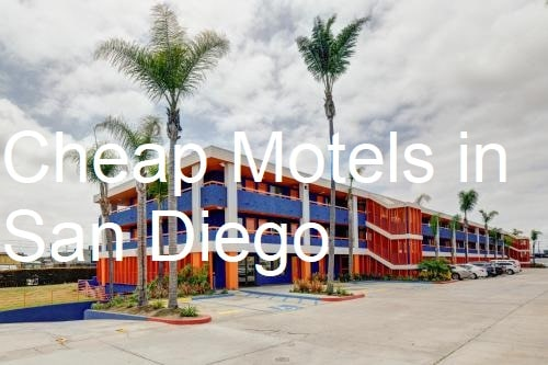 Cheap Motels in San Diego, California