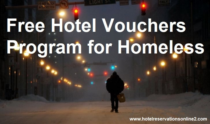 Free Hotel Vouchers Program for Homeless